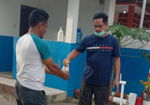 Masuk Kompleks Permata Sudiang Raya Blok K Harus Cuci Tangan