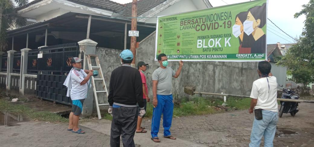 Tutup 7 Pintu Dan Buka 1 Pintu Di Blok K Permata Sudiang Raya
