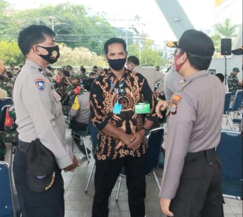 Thamrin Mensa Ketua PokdarKamtibmas Bhayangkara Sulsel Ingatkan Patuhi Protokol Kesehatan Hadapi Covid-19