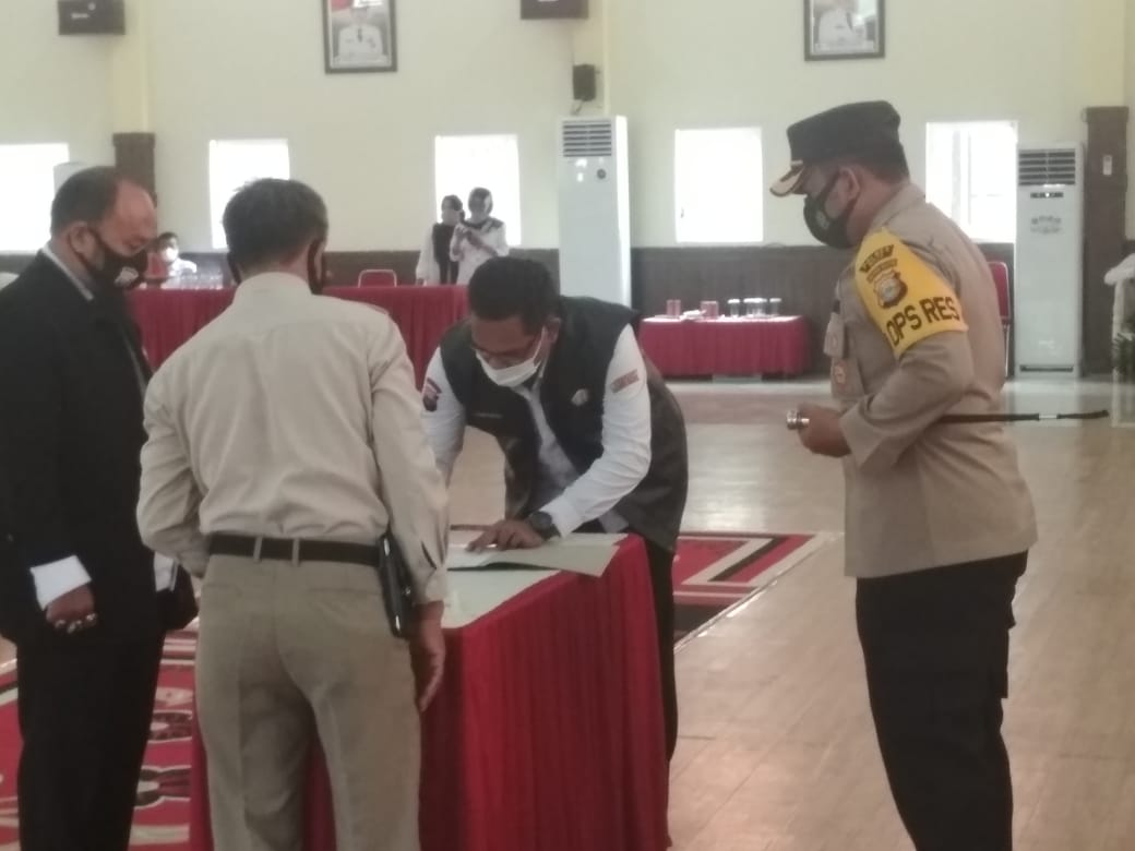 Pengukuhan dan Pelantikan Pokdarkamtibmas Bhayangkara Resor Wajo ini Kata Ketua Daerah Sulsel